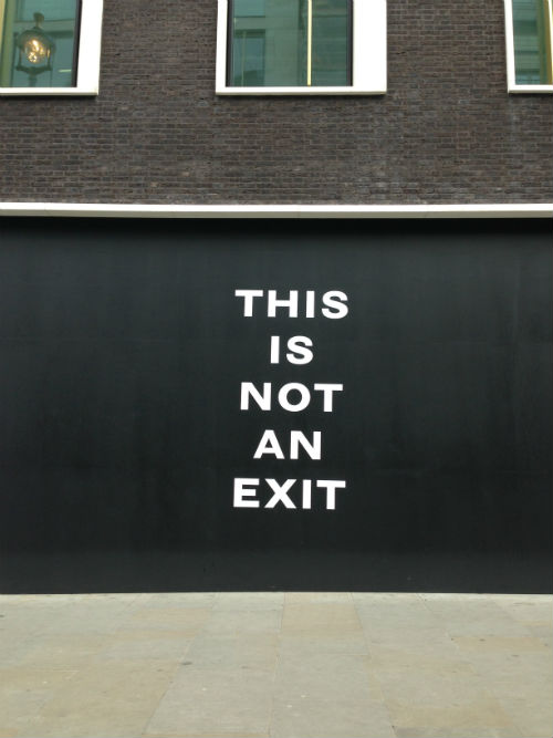 Mat Collishaw - This Is Not An Exit